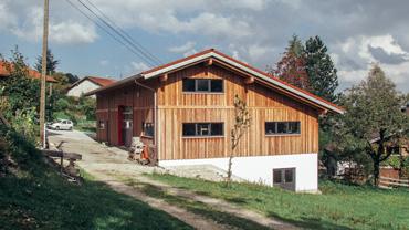 Neubau Schreinerwerkstatt