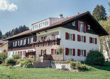 Sanierung Pfarrhof in Niedersonthofen